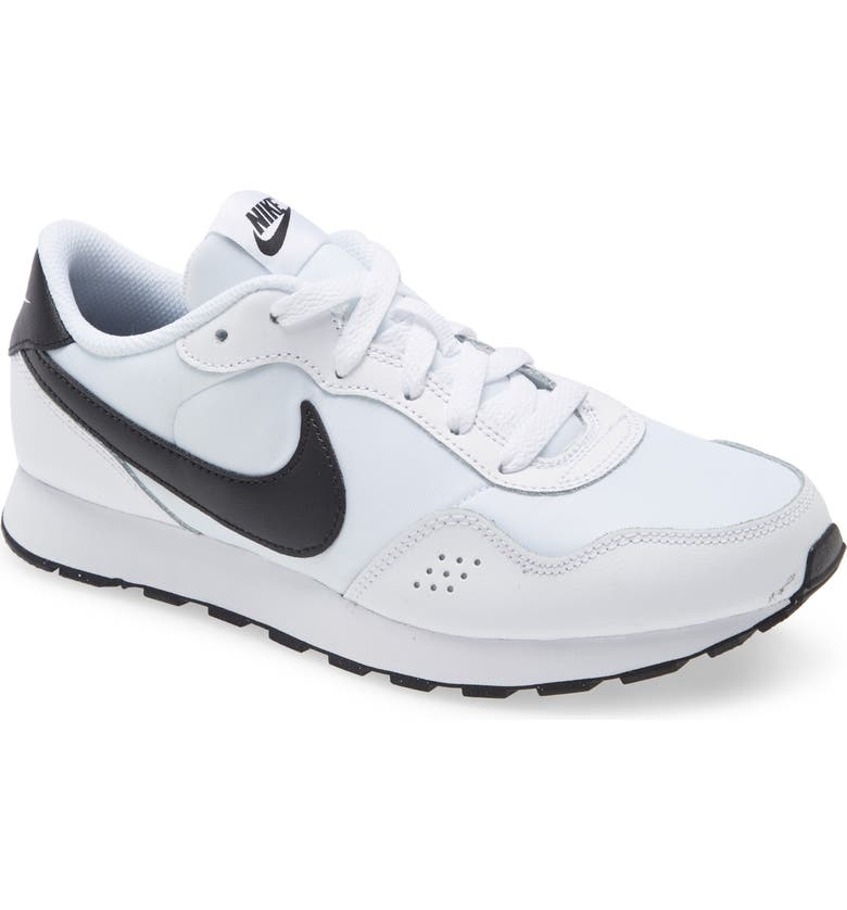 NIKE MD Valiant Sneaker, Main, color, WHITE/ BLACK