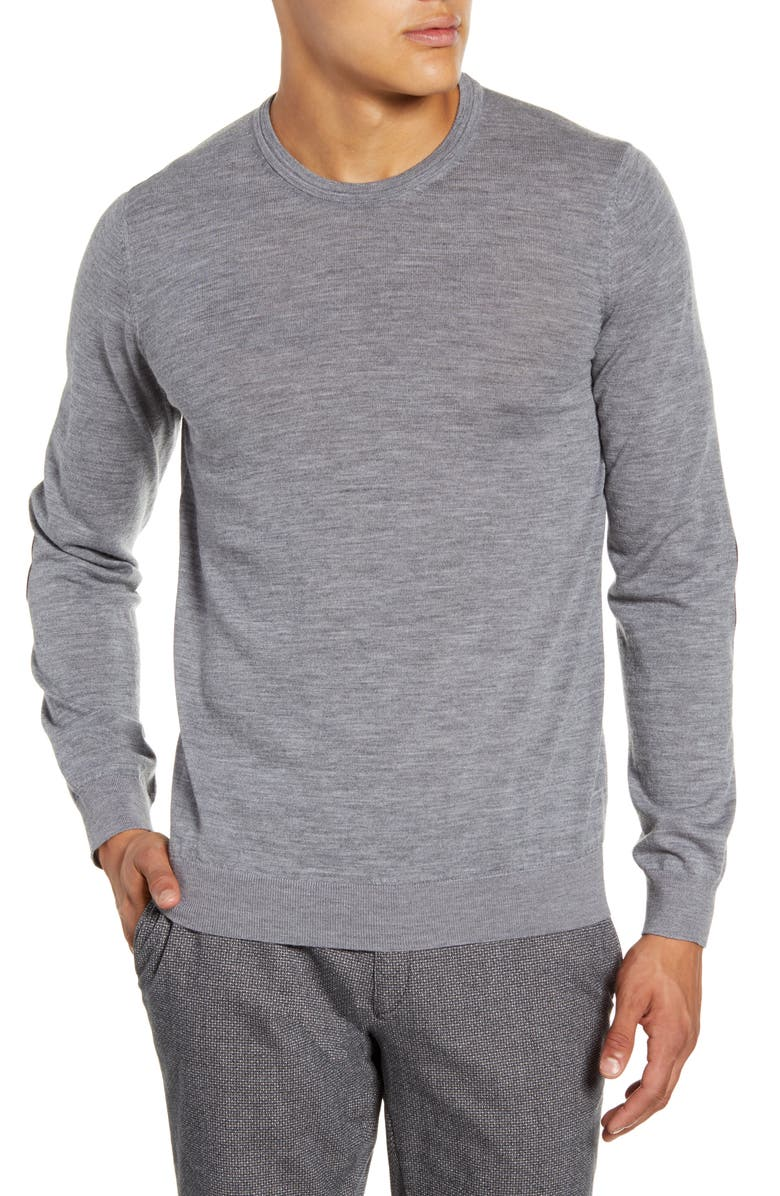 BRAX Rick Crewneck Merino Wool Sweater, Main, color, 033