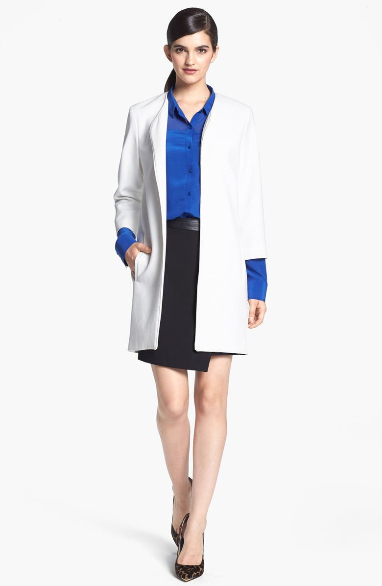 HARLOWE AND GRAHAM Topper Coat, Main, color, IVORY