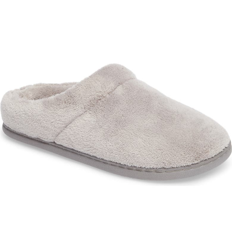 TEMPUR-PEDIC<SUP>®</SUP> 'Windsock' Slipper, Main, color, GRAY FABRIC