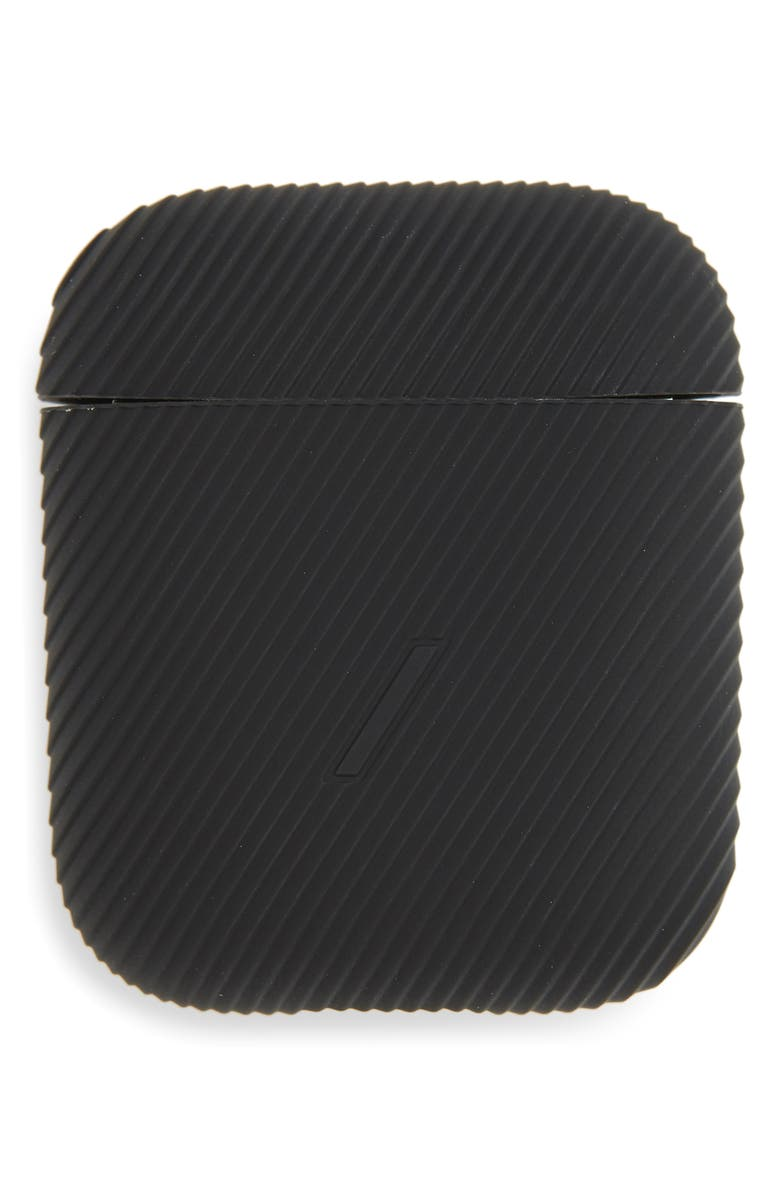 NATIVE UNION Curve AirPod Case, Main, color, BLACK