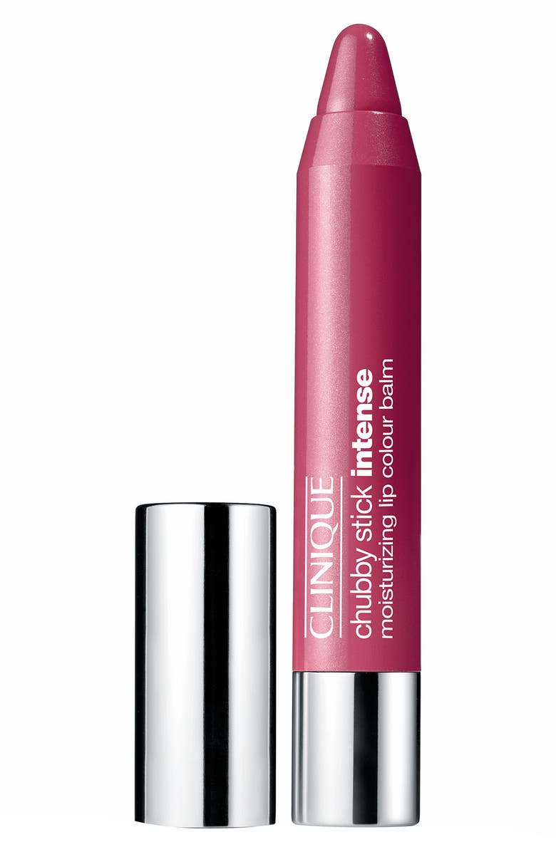 CLINIQUE Chubby Stick Intense Moisturizing Lip Color Balm, Main, color, 06 ROOMIEST ROSE