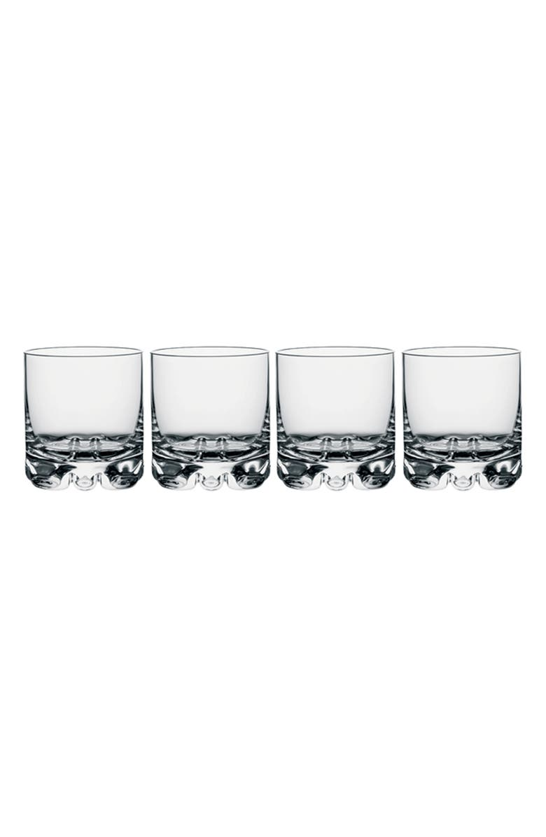 ORREFORS Erik Set of 4 Double Old Fashioned Glasses, Main, color, 100