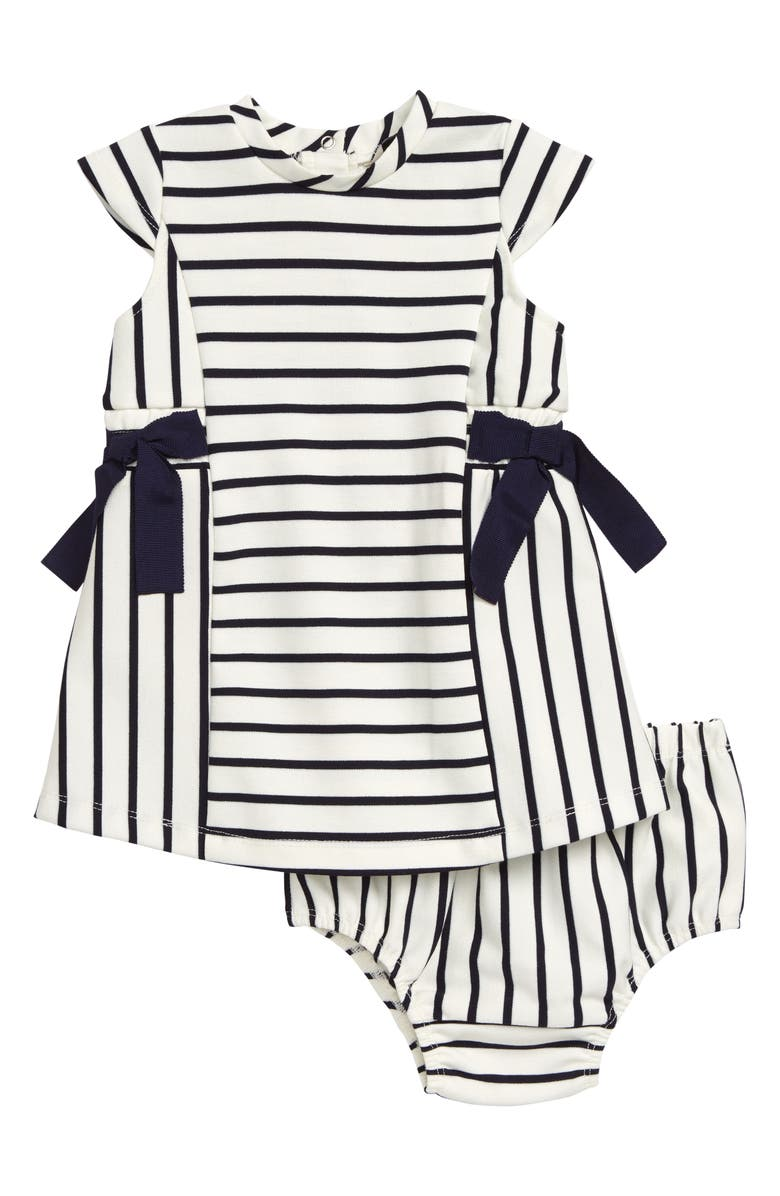 HABITUAL GIRL Habitual Stripe Bow Dress, Main, color, 401