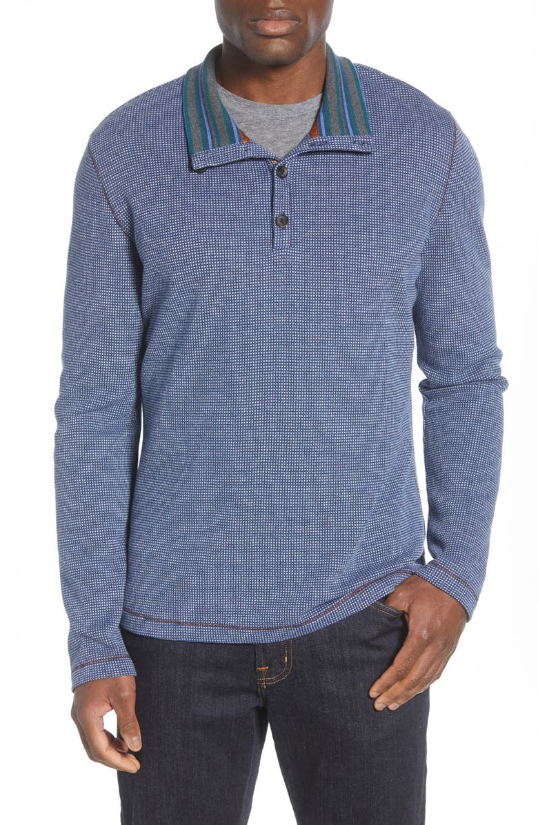 ROBERT GRAHAM Gatewood Regular Fit Knit Pullover, Main, color, 410