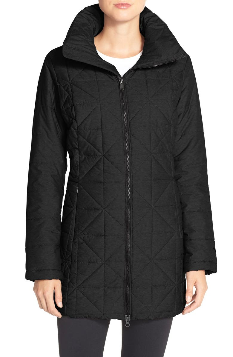 THE NORTH FACE 'Arlayne' Insulated Quilted Parka, Main, color, TNF BLACK