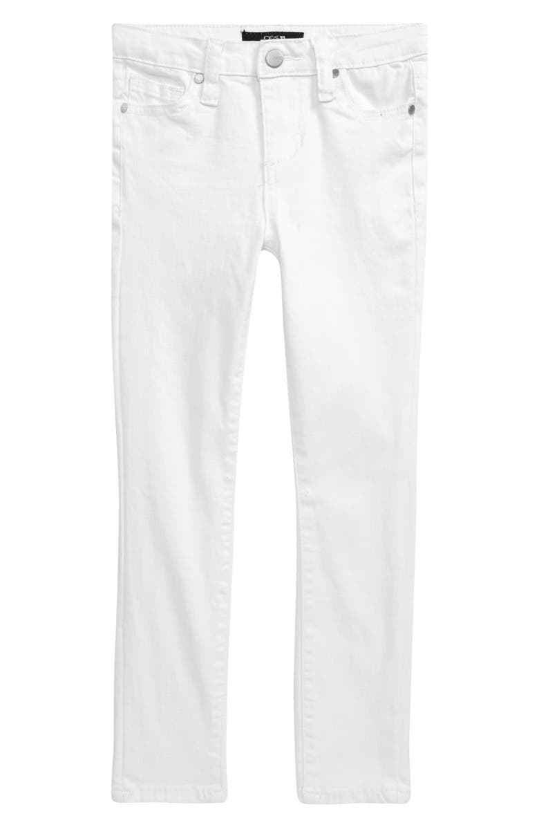 JOE'S The Jegging Mid Rise Jeans, Main, color, BRIGHT WHITE