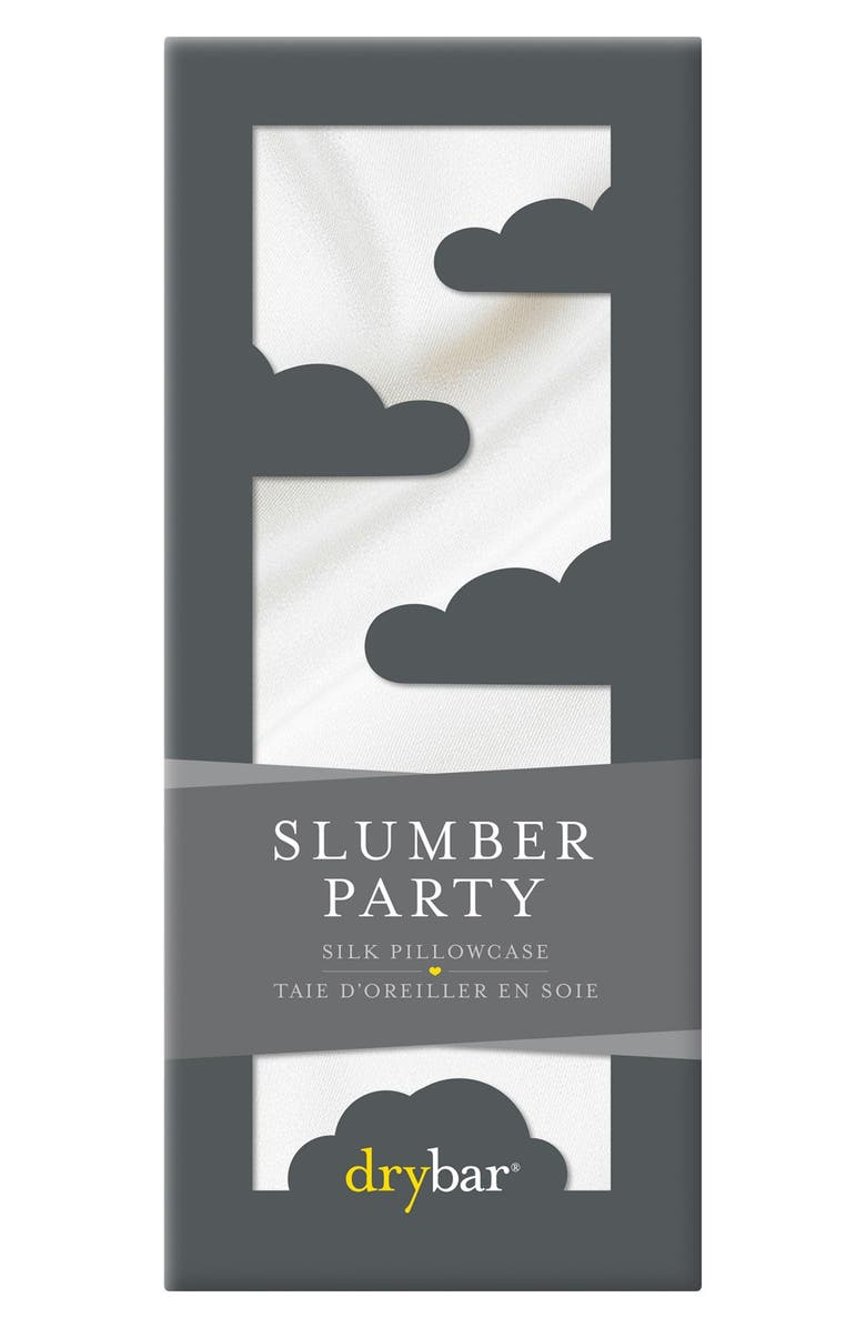 DRYBAR Slumber Party Silk Pillowcase, Main, color, 000
