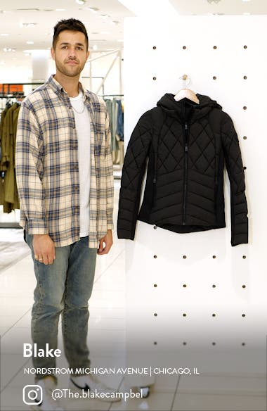 Puffer Jacket with Removable Bib & Hood, sales video thumbnail