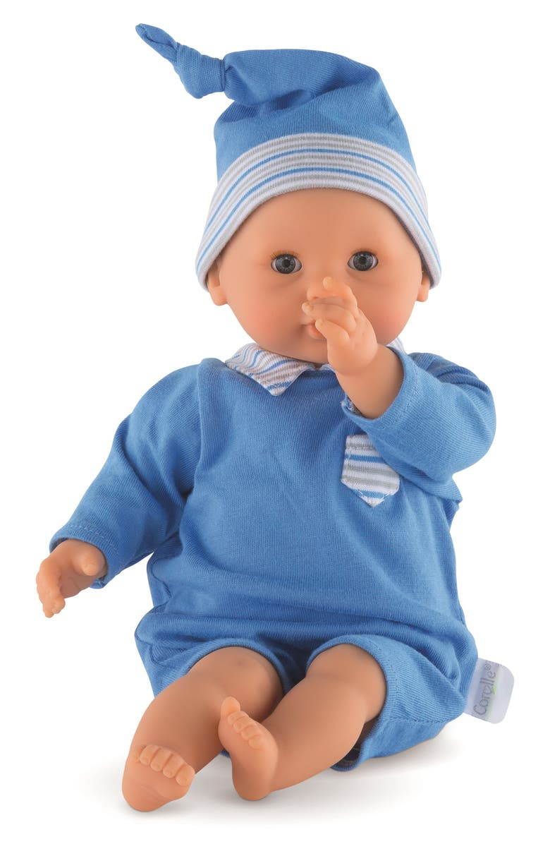 COROLLE Calin Boy Blue Baby Doll, Main, color, 400