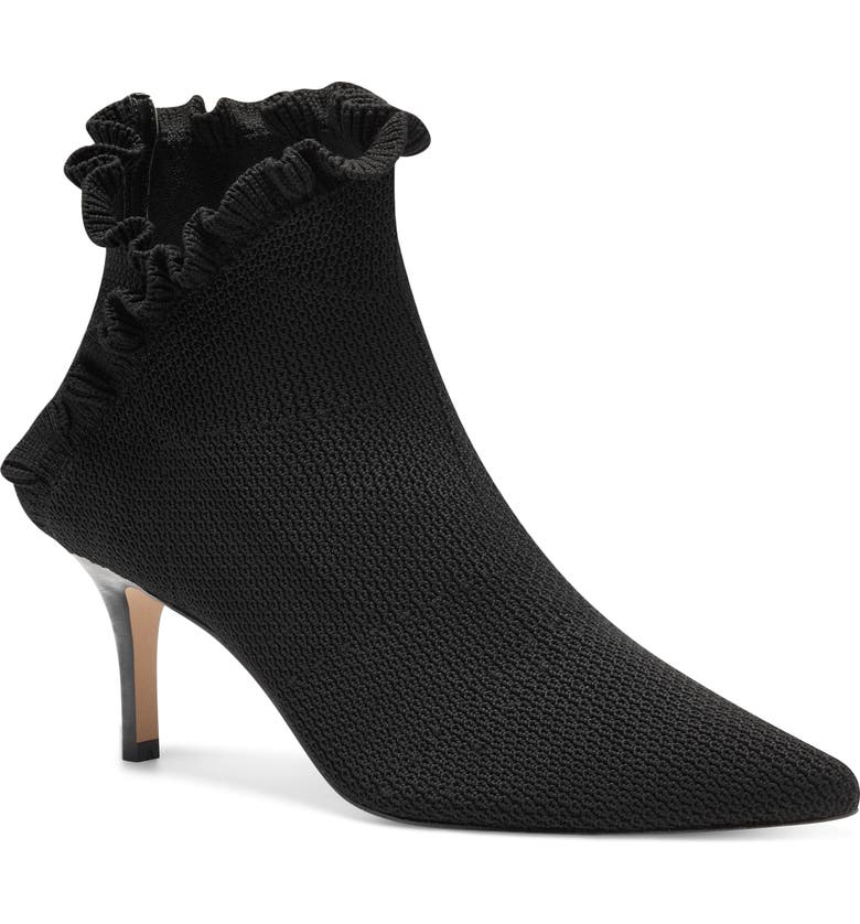 SOLE SOCIETY Darinah Bootie, Main, color, BLACK FABRIC