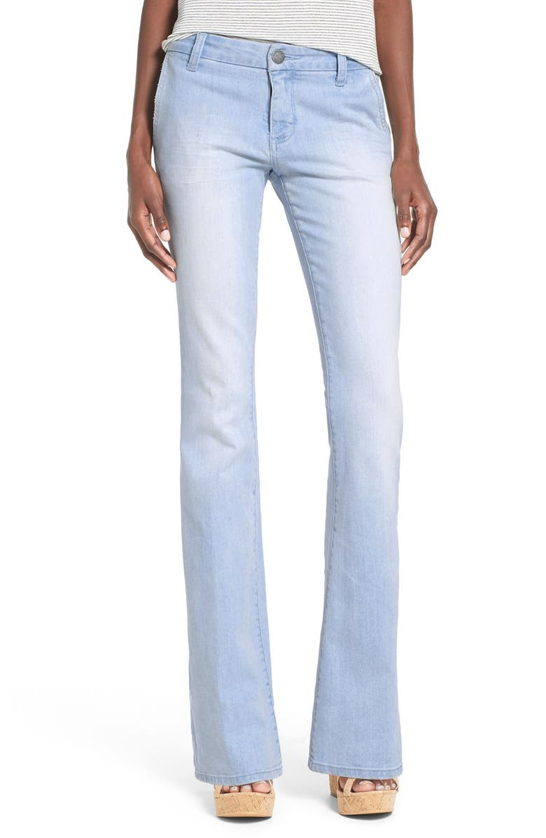 STS BLUE 'True' Flare Jeans, Main, color, 400