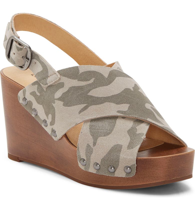 LUCKY BRAND Zelka Slingback Wedge, Main, color, 060