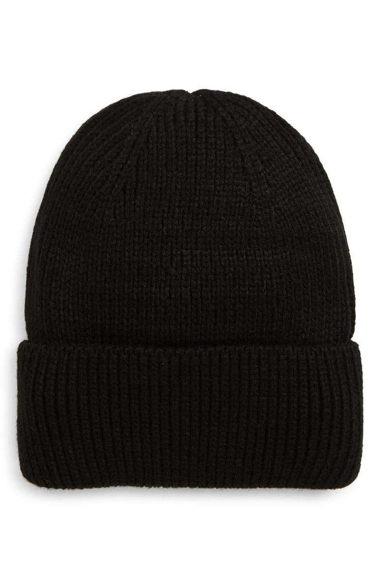 TROUVÉ Cuff Beanie, Main, color, 001
