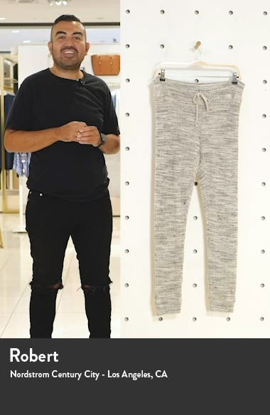 Living Easy Thermal Knit Sweatpants, sales video thumbnail
