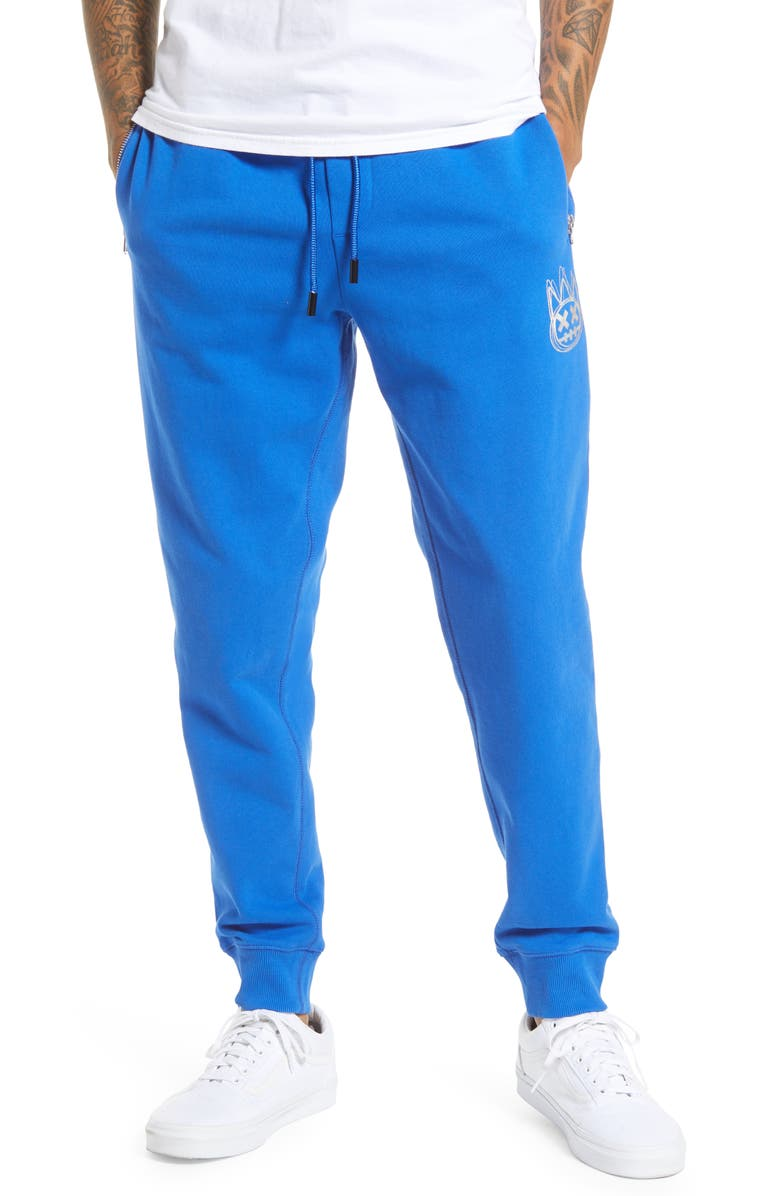 CULT OF INDIVIDUALITY Zip Pocket Sweatpants, Main, color, SURF BLUE