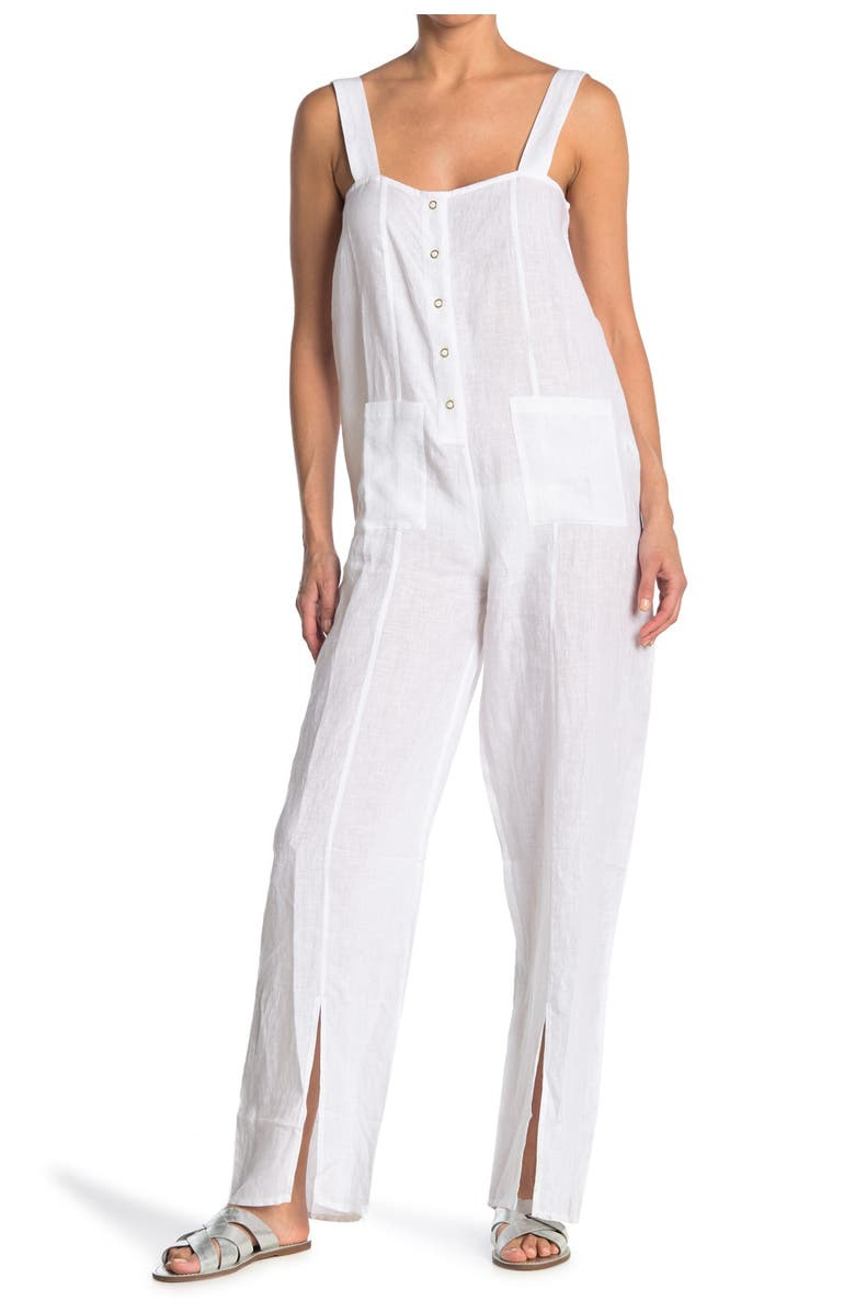 WEWOREWHAT Loose Jumper, Main, color, WHITE