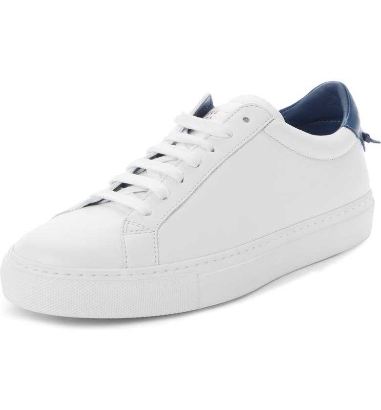 GIVENCHY Urban Street Low Top Sneaker, Main, color, WHITE/ BLUE