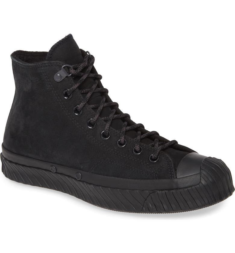 CONVERSE Chuck Taylor<sup>®</sup> All Star<sup>®</sup> Bosey Water Repellent High Top Sneaker, Main, color, 001