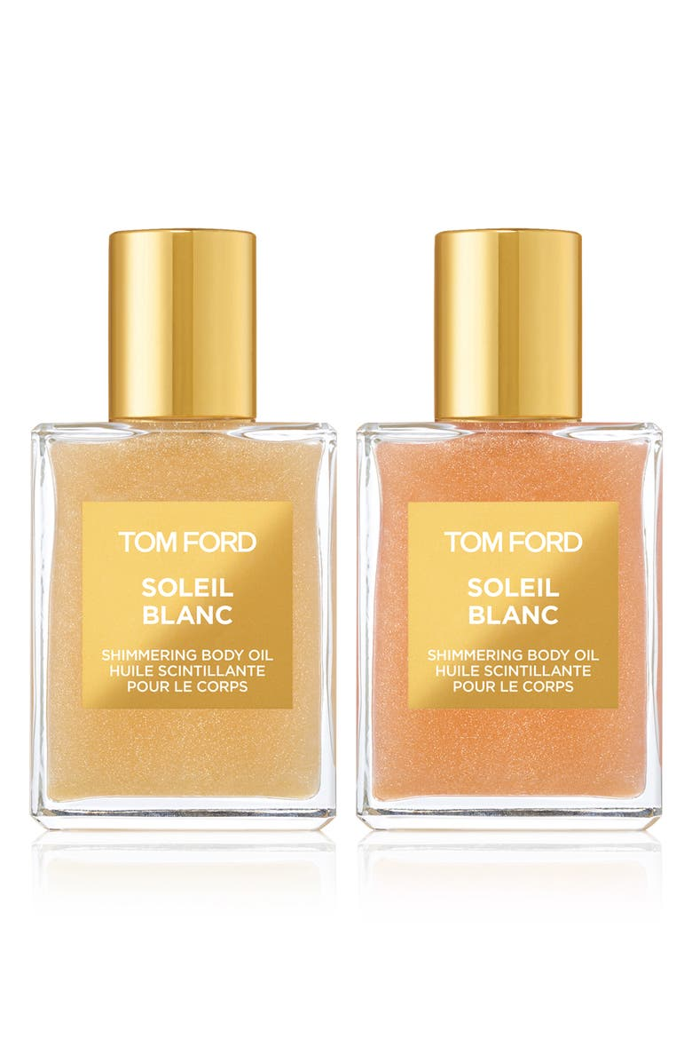 TOM FORD Soleil Blanc Shimmering Body Oil Mini Duo, Main, color, No Color