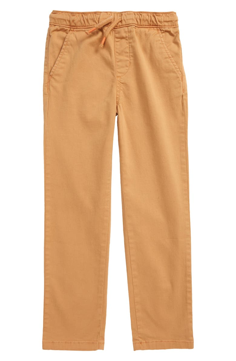 TUCKER + TATE Kids' All Day Relaxed Pants, Main, color, TAN DOE
