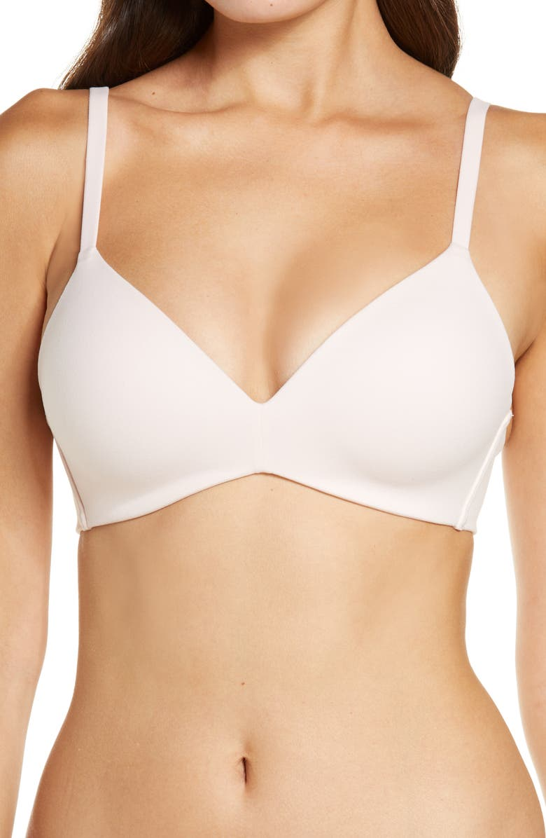 WACOAL How Perfect No-Wire Contour Bra, Main, color, LOTUS