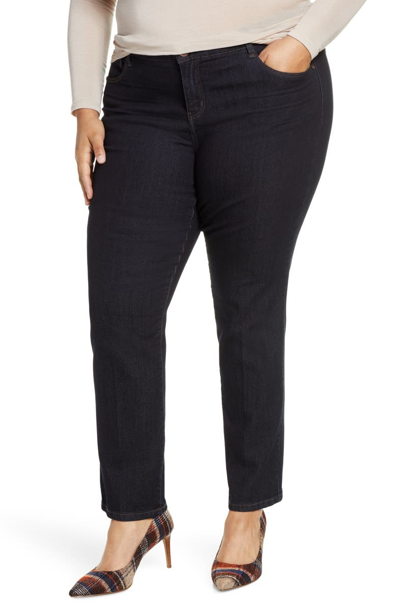 WIT & WISDOM Ab-Solution Straight Leg Jeans, Main, color, 402