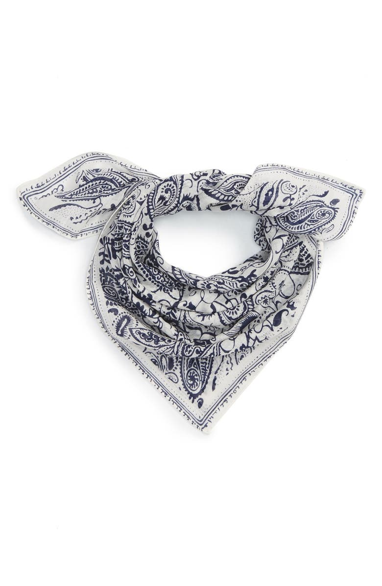 ECHO Paisley Bandana, Main, color, 100