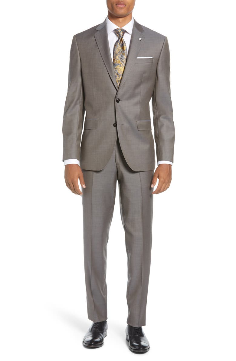 TED BAKER LONDON Jay Wool Suit, Main, color, 280