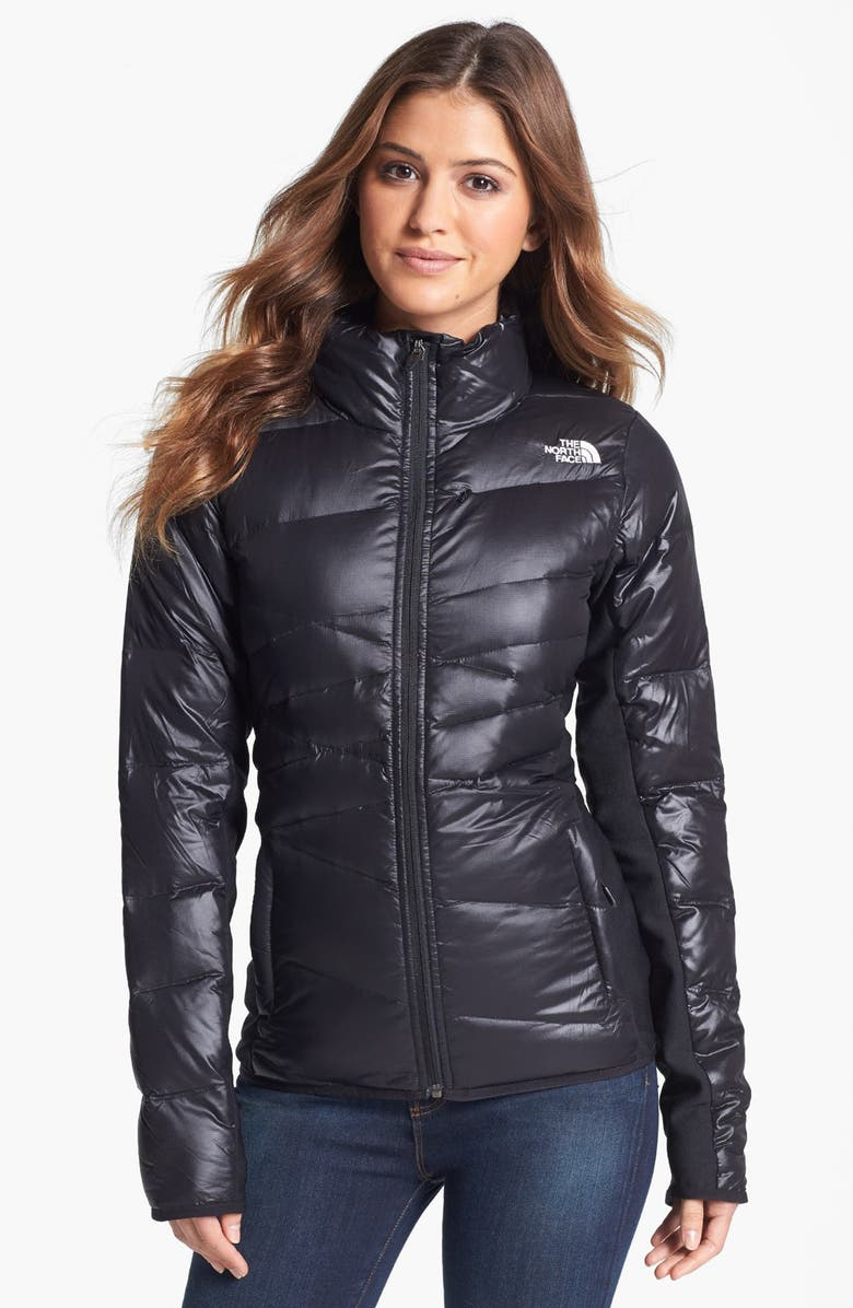 THE NORTH FACE 'Hyline' Hybrid Down Jacket, Main, color, Black