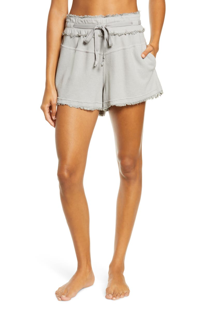FREE PEOPLE FP MOVEMENT Up & Fly Shorts, Main, color, DARK GREY
