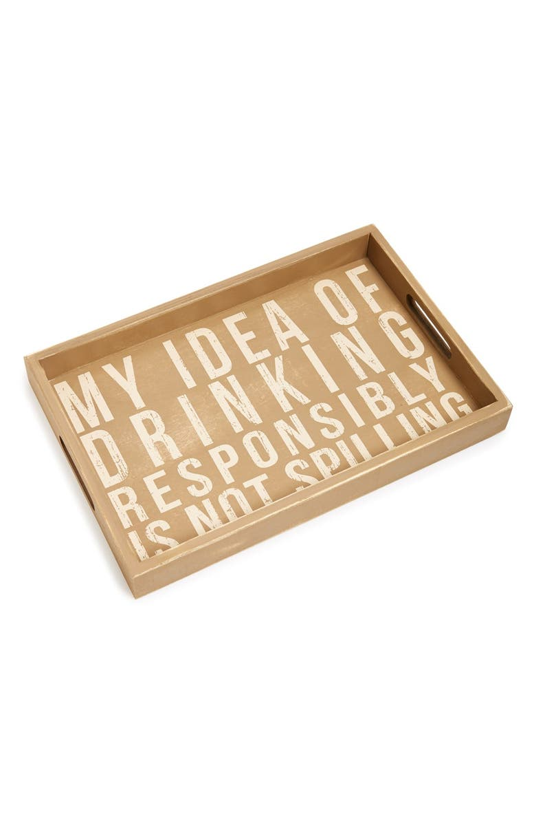 PRIMITIVES BY KATHY 'My Idea' Box Sign Tray, Main, color, 250