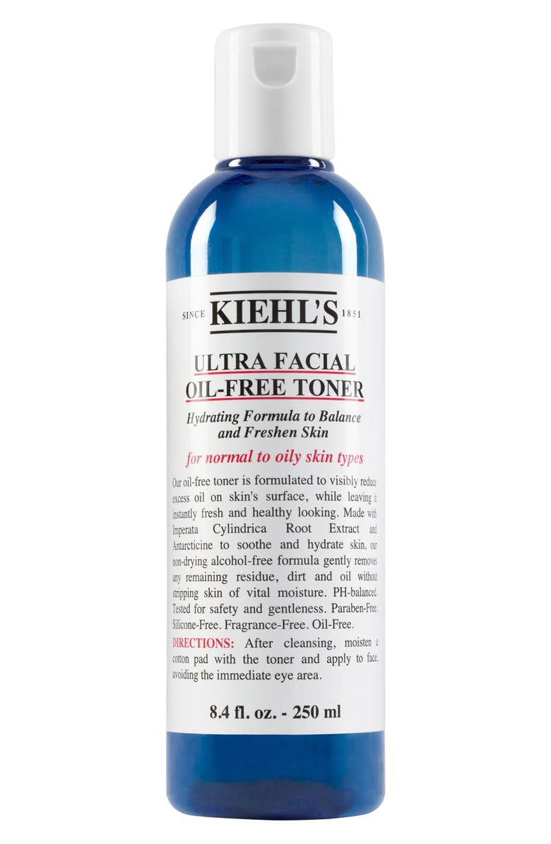 KIEHL'S SINCE 1851 Ultra Facial Oil-Free Toner, Main, color, NO COLOR