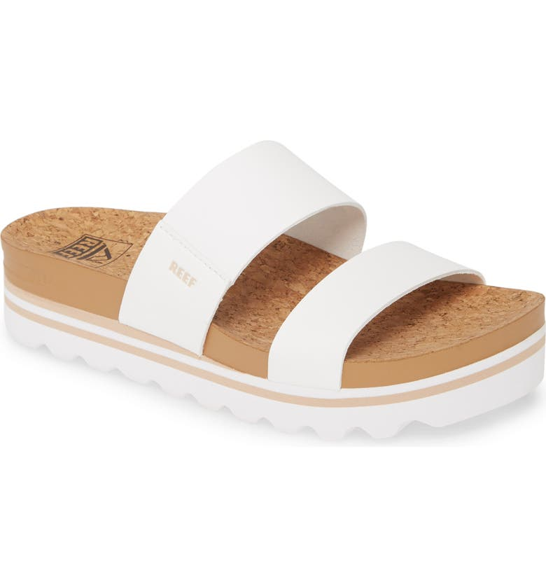 REEF Cushion Bounce Vista Hi Slide Sandal, Main, color, CLOUD