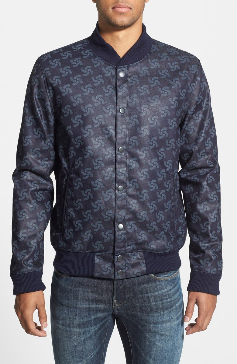 G-STAR RAW 'RAW for the Oceans' Bomber Jacket, Main, color, 410
