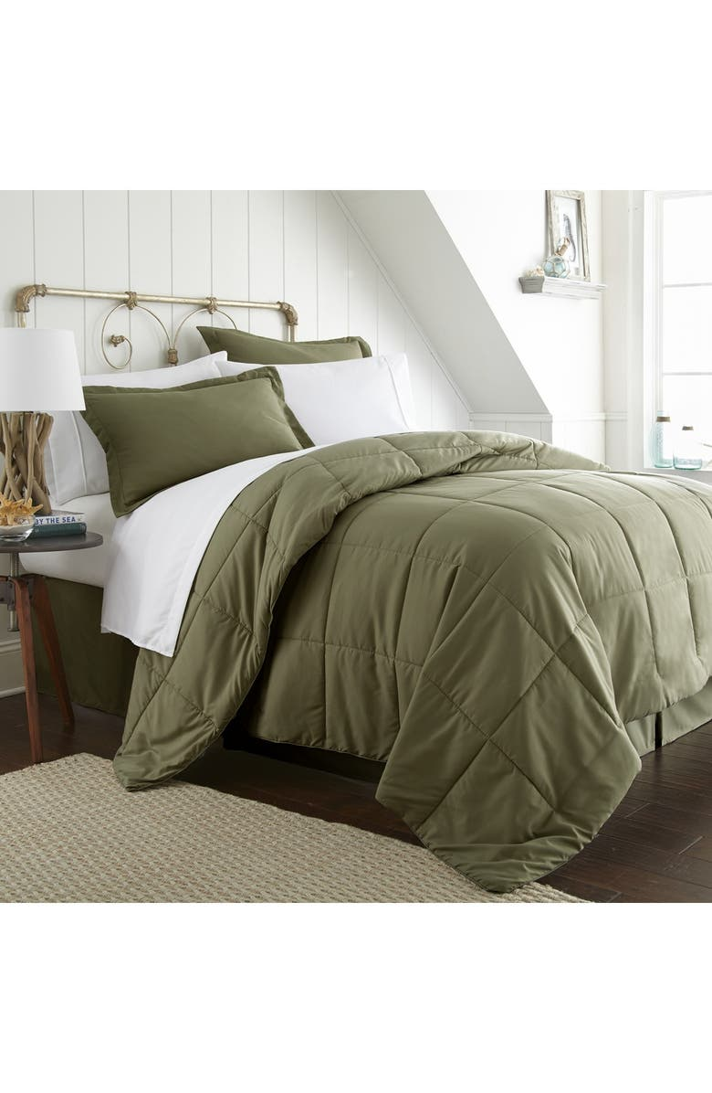 IENJOY HOME Home Spun Twin Premium Bed In A Bag - Sage, Main, color, SAGE