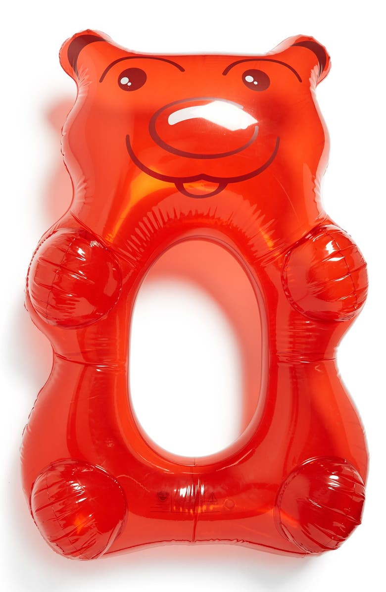 BIGMOUTH INC Big Mouth Toys 'Gummy Bear' Pool Float, Main, color, 601