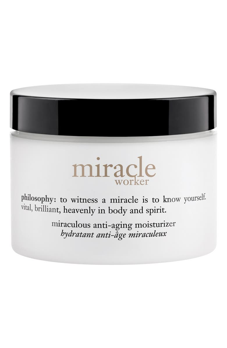 PHILOSOPHY miracle worker miraculous anti-wrinkle moisturizer, Main, color, 000