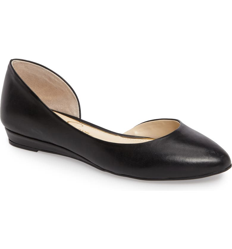 JESSICA SIMPSON Lynsey d'Orsay Flat, Main, color, 001
