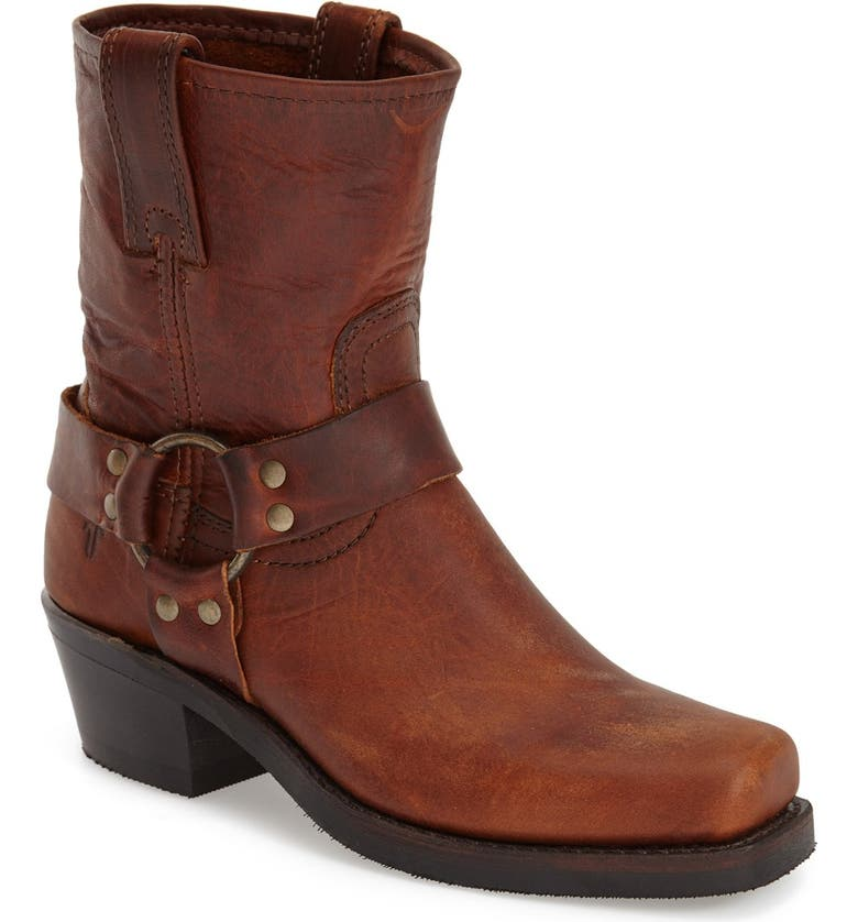 FRYE 'Harness 8R' Boot, Main, color, COGNAC