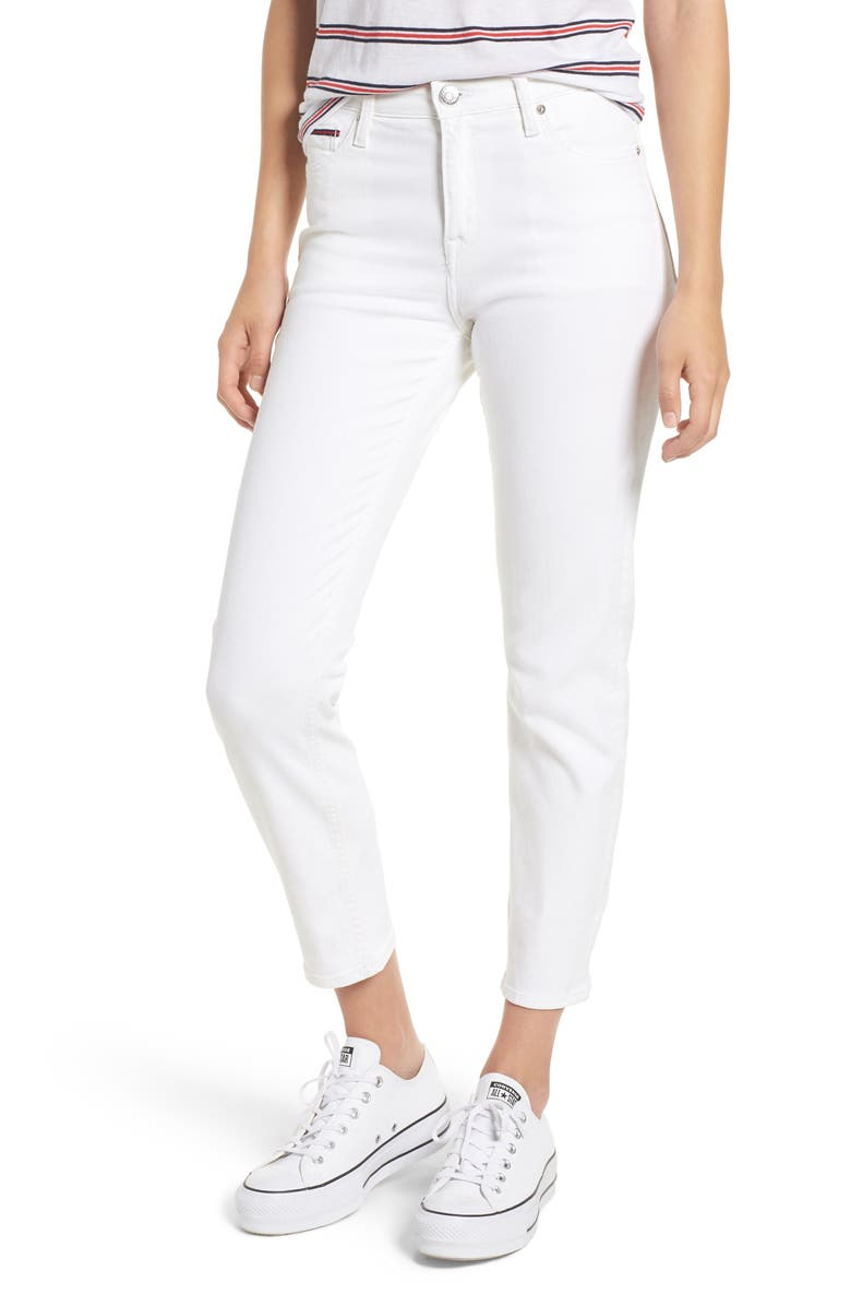 TOMMY JEANS Slim Izzy Jeans, Main, color, 100