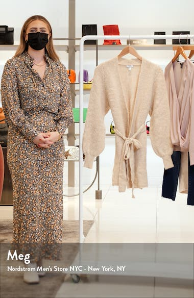 Belted Wrap Cardigan, sales video thumbnail