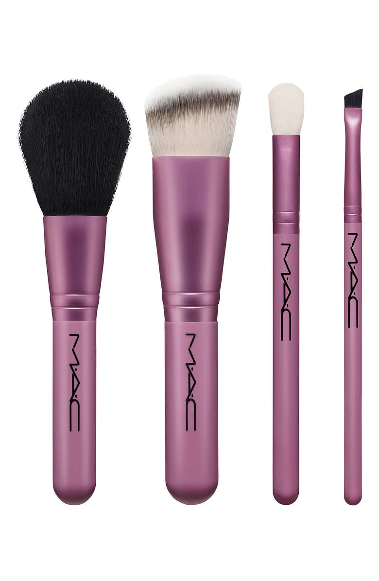 MAC COSMETICS MAC Brush With The Best Set, Main, color, 000