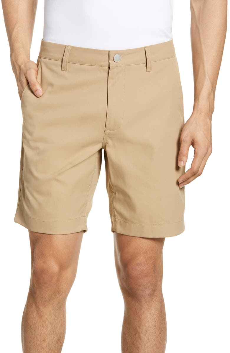BONOBOS The Highland Golf Shorts, Main, color, KHAKI