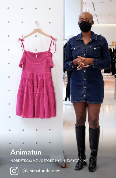 Happy with You Cold Shoulder Minidress, sales video thumbnail