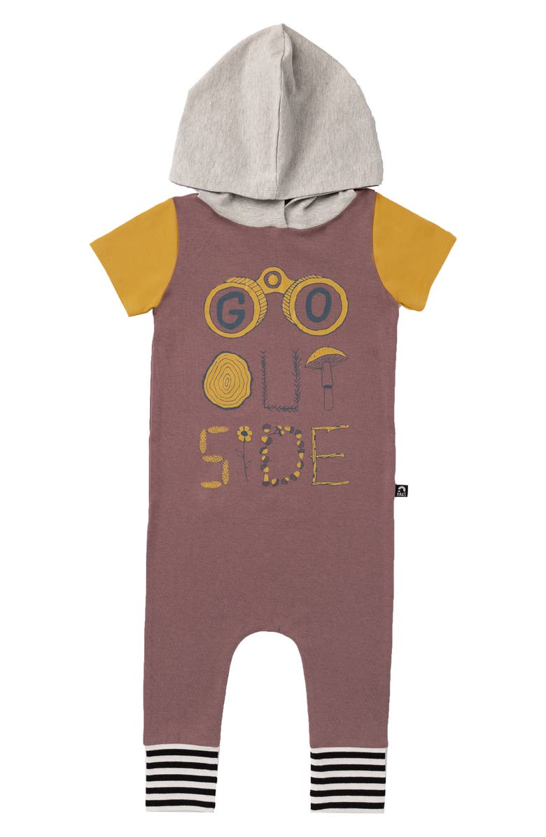 RAGS Go Outside Hooded Romper, Main, color, 200