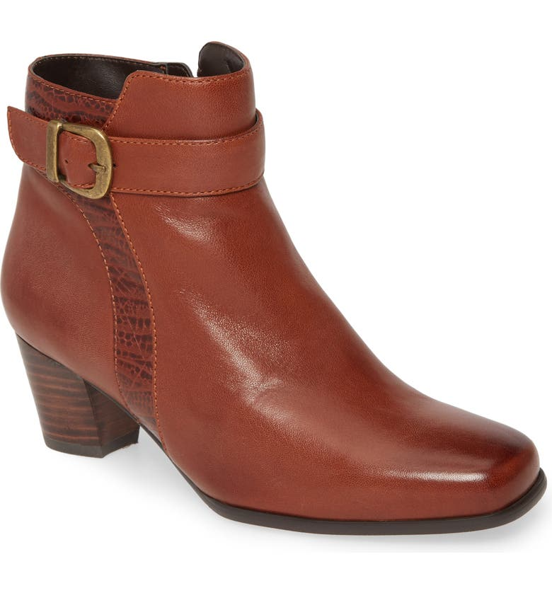 DAVID TATE Berlin Bootie - Multiple Widths Available, Main, color, LUGGAGE LEATHER