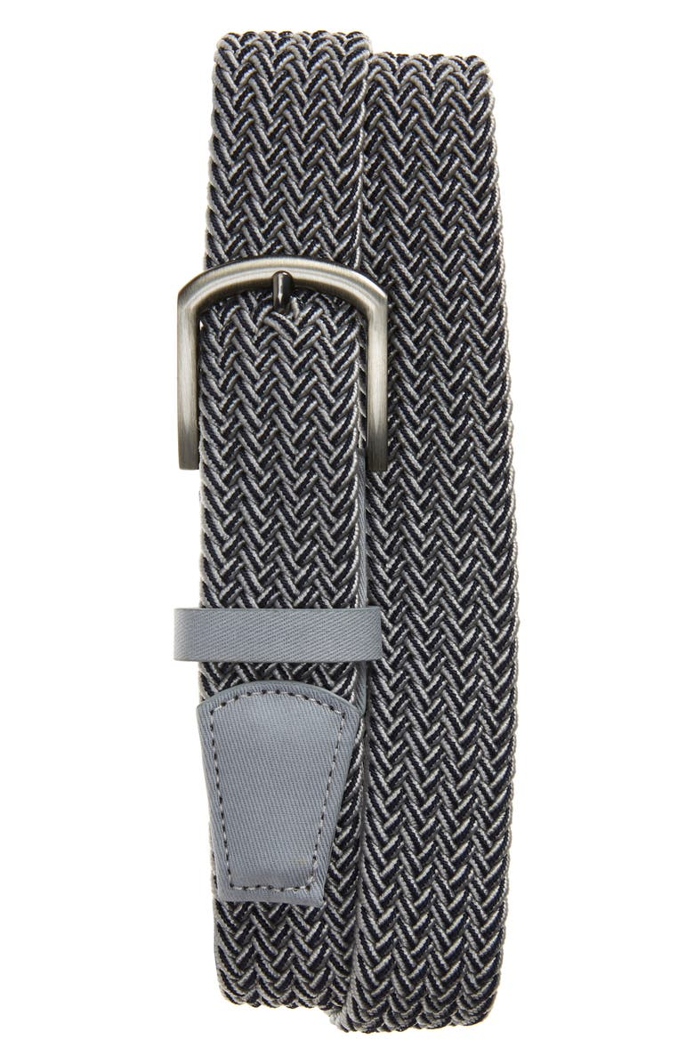 CUATER BY TRAVIS MATTHEW Cuater by TravisMathew Central Woven Belt, Main, color, LIGHT GREY