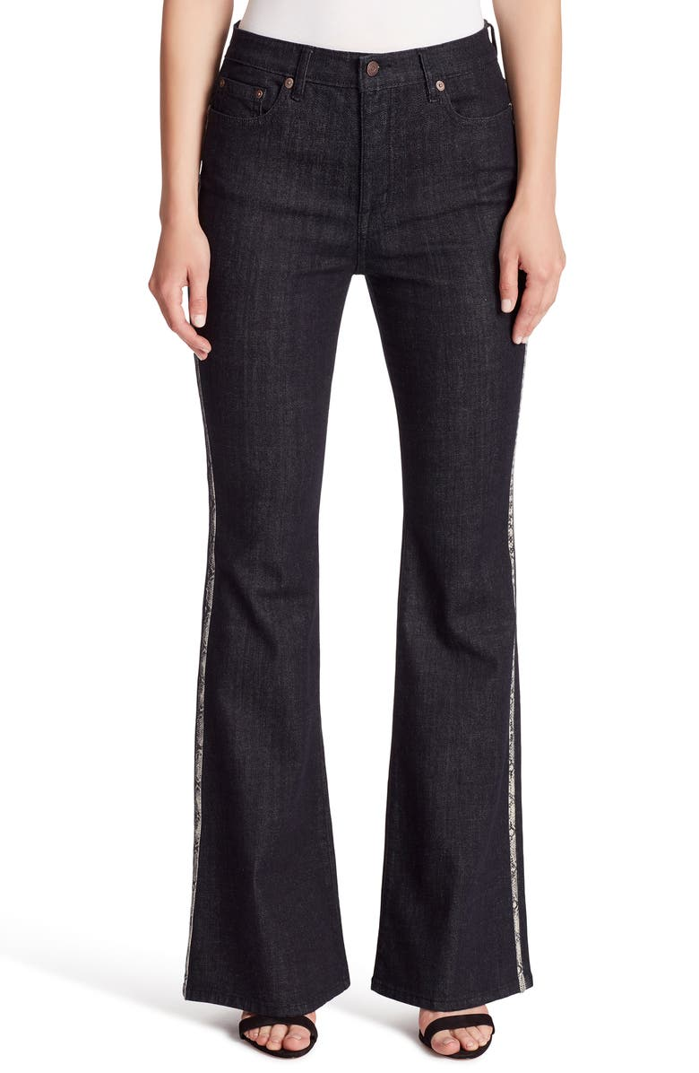 ELLA MOSS High Waist Flare Jeans, Main, color, 401