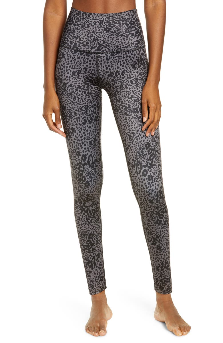 BEYOND YOGA Lux High Waist Leggings, Main, color, MARBLED CAT